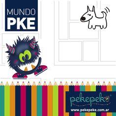 ¡Laberinto de juegos! Descargá el juego haciendo click en la imagen y ayudá a nuestro #MonstruoPeke a encontrarse con su mascota. #Juegos #Diversión #Fun