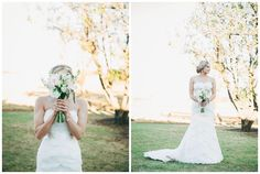 Farm wedding. Lace dress. Wedding flowers