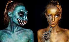 Foto] Lara Wirth, Gadis 16 Tahun Pintar Ubah Wajah jadi 'Monster ...