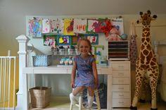 Lasten piirrustuspöytä