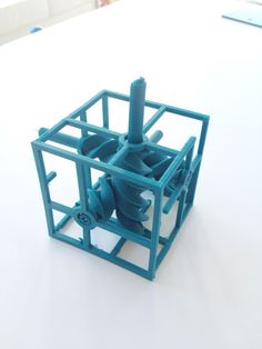 3D Printed mechanical toy #3dPrintedToys