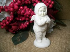 Department 56 SNOWBABY Porcelain Angel by SpringJewelryThings, $14.95 have this one