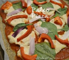 Paleo Pizza Crust (Gluten Free/ Dairy Free/ Vegan/ Nut Free)