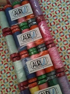 Want this! #Aurifil sample pack giveaway, ends 3/13