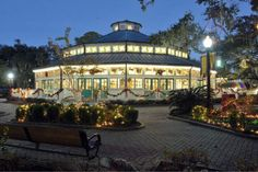 Photo provided by JOHN HOPPERThe Carousel Garden at New Orleans City Park is decked out for Christmas and is featured in the massive lighting display, Celebration in the Oaks, which continues nightly in New Orleans.