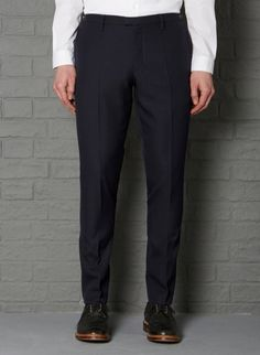 Picadilly Pant #aw13 #farrell #navy #twill #wool