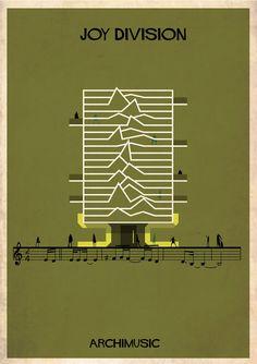 Galería de ARCHIMUSIC: ilustraciones que transforman Música en Arquitectura - 27
