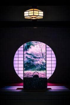 Meigetsu-in is a Rinzai Zen temple, in Kita-Kamakura, Japan: photo by Ichiro Hiura Kamakura, Japanese House, Japanese Art, Traditional Japanese, Art Asiatique, Art Japonais, Japanese Architecture, Japanese Culture, Japan Travel