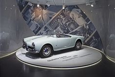 The Time Machine – The Museum of Alfa Romeo History of Arese.  Renovation and new exhibition installations: Camerana&Partners Location: Arese (MI), Italy Images courtesy of Museo Alfa Romeo