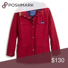 Penfield kasson parka red xs extra small madewell $200 new Massachusetts-based Penfield has been churning out top-notch, weather-resistant outerwear—coveted by fans of heritage-style clothing and outdoor enthusiasts alike—since 1975. This superwarm parka is perfect for woodsy walks and urban strolls and has a checkerboard-plaid lining that can be found here and only here. Madewell Jackets & Coats