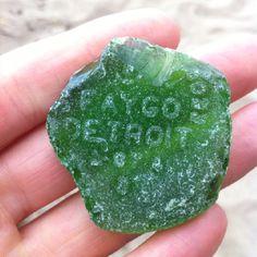 Found on the beach on Lake Huron