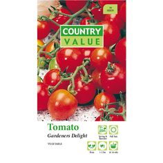 Country Value Gardeners Delight Tomato Vegetable Seeds