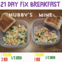 Another 21 Day Fix Approved meal.  Who needs a drive thru when you have tupperware...that's the real fast food!