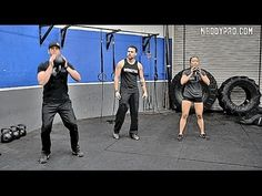 Full Body Kettlebell Workout For All Levels - YouTube... 11 mins
