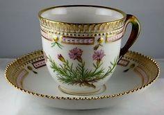 Flora Danica Prices | Details about Royal Copenhagen Flora Danica Cup & Saucer Set #3597