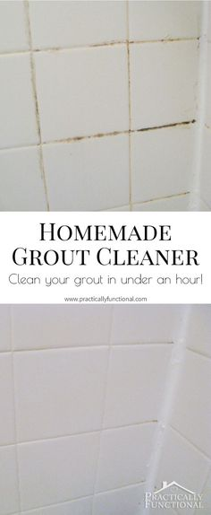 Diy Fast Easy Way To Whiten Tile Grout Pinteres