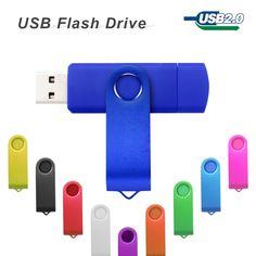 OTG usb flash drive 32gb pen drive 4gb 8gb 16gb 64gb memory micro usb stick for Smart Phone pendrive usb flash card cellphone