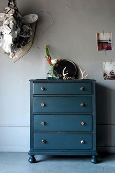 old dresser/after