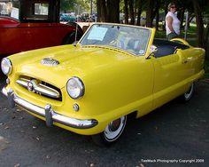 1955 Nash Metropolitan....like Christian's car on Clueless :D