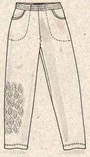 Bukse «Ghita» i bomull – Bukser – GUDRUN SJÖDÉN – Kläder Online & Postorder