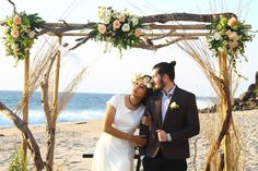 Four Tips For A Beautiful Beach Wedding. The soft sand, the bright sparkling water, and the sunset in the distance definitely make beaches one of the most romantic settings for a wedding. Wedding Planning Tips, Wedding Tips, Diy Wedding, Wedding Styles, Wedding Venues, Dream Wedding, Wedding Beach, Beach Weddings, Wedding Ceremony