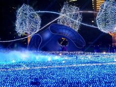 Tokyo Mid-town Christmas light-show spectacular, Roppongi