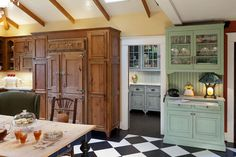 Southern Plantation Kitchen (Cultivate.com) - this might be enough room for all my dishes