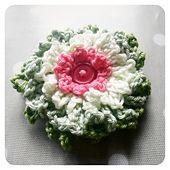 Ravelry: Dahlia Crochet Flower pattern by Crochet Tea Party