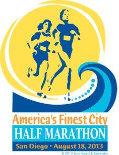 America's Finest City Half Marathon & 5K   San Diego, California 92101   Sunday, August 18, 2013 @ 7:00 AM