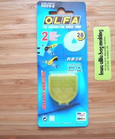 olfa 28mm rotary blades available from loveellie.com @LoveEllieBags  P1047365