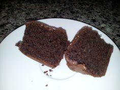 cucakes de chocolate veganas sin gluten, sin lactosa y sin huevo