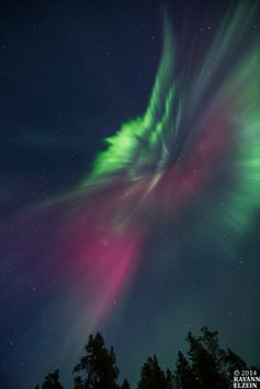 Aurora surprise on 12 March 2014 | ReZ-Photography.com – Rayann Elzein