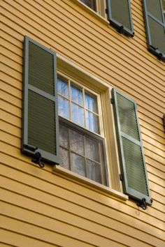 Incorrect way to mount shutters shutters exterior pinterest shutters for How to repair exterior window sill