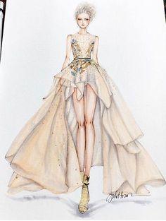 """Résultat de recherche d'images pour """"instagram robe haute couture dessin"""""""