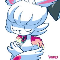 Fluffy Volcarona by Diives