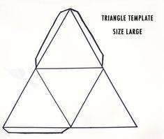 triangle template - Google zoeken