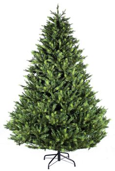 8ft Snowy Nobilis Fir Feel Real Artificial Christmas Tree | All Around The Christmas  Tree | Pinterest | Trees, Products And Firs