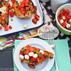 Caprese Bruschetta Chicken - The Cookie Rookie
