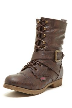 Rebels Ryder Lace-Up Boot <3