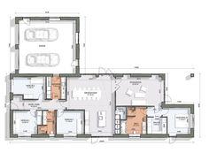Ideal Home, Planer, Floor Plans, Flooring, How To Plan, Interior, Case, Inspiration, Hobbies