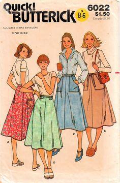 1970s dressmaking pattern
