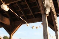 cotton garland | Charlotte Elizabeth Photography #wedding