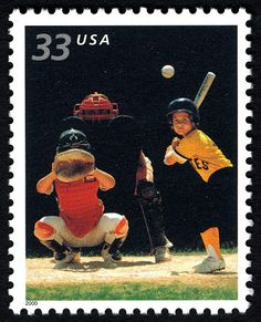 The US Postal Service issued four Youth Team Sports commemorative stamps in 2000. The sports, basketball, football, soccer, and baseball, are popular with ...
