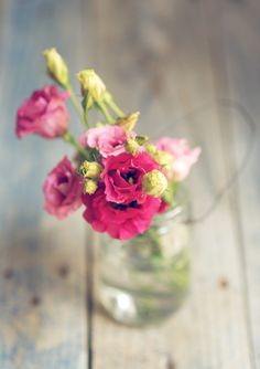 flowers  in little bottles  ..X ღɱɧღ ||