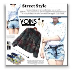 """Yoins"" by water-polo ❤ liked on Polyvore featuring Louis Vuitton, Max Factor, polyvoreeditorial and yoins"