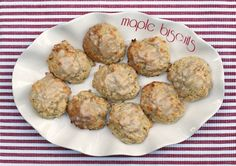 Maple Chip Biscuits