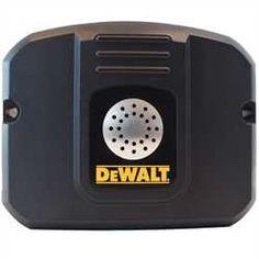 DEWALT Mobilelock GPS locator with anti-theft alarm Wireless Alarm System, Dewalt Tools, Professional Tools, Garage Design, Tool Storage, Woodworking, Hardware, Shop, Style
