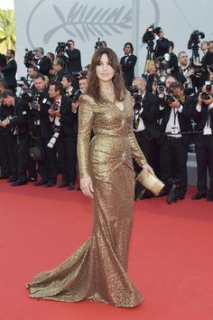 MONICA BELLUCCI the 70th Anniversary screening on May 23, day 7 of the Cannes Film Festival.  GETTY
