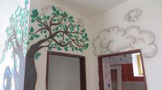 stromček a obláčiky