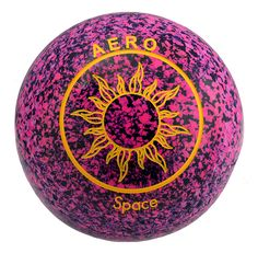 Aero Space lawn bowl in new premium Dusk color. Available from Accuratelawnbowls.com